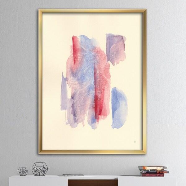 Designart 'geometric Pastel I' Mid-Century Modern Framed Art Print. Opens flyout.