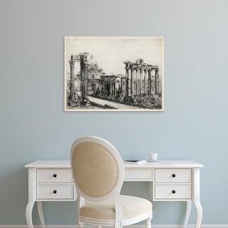 Easy Art Prints Unknown's 'Scenes in Roma' Premium Canvas Art