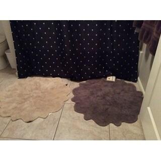 Sherry Kline Over Tufted Petals Bath Rug (Set of 2) - 32