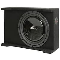 """Audiopipe APSB12BD 12"""" Shallow Mount Down Firing Sealed Bass Enclosure"""