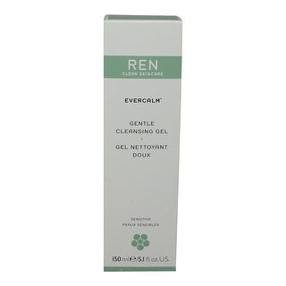 REN Skincare Clean Skincare Gentle Cleansing Gel, 5.1 Fluid Ounce