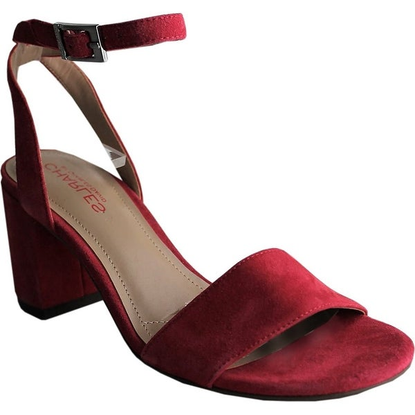Charles by Charles David Womens CCD-KEENAN Leather Open Toe Casual Ankle Stra...