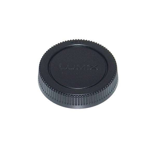 OEM Panasonic Lumix REAR Lens Cap - NOT A Generic: HFS014042, H-FS014042, DMCGF2KK, DMC-GF2KK, DMCG10K, DMC-G10K - N/A