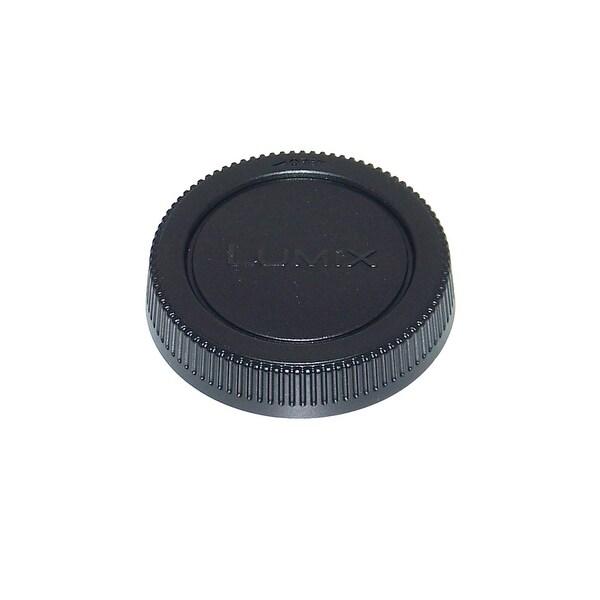 OEM Panasonic Lumix REAR Lens Cap - NOT A Generic: HFS045200, H-FS045200, DMCGF2K, DMC-GF2K, DMCG5KS, DMC-G5KS - N/A