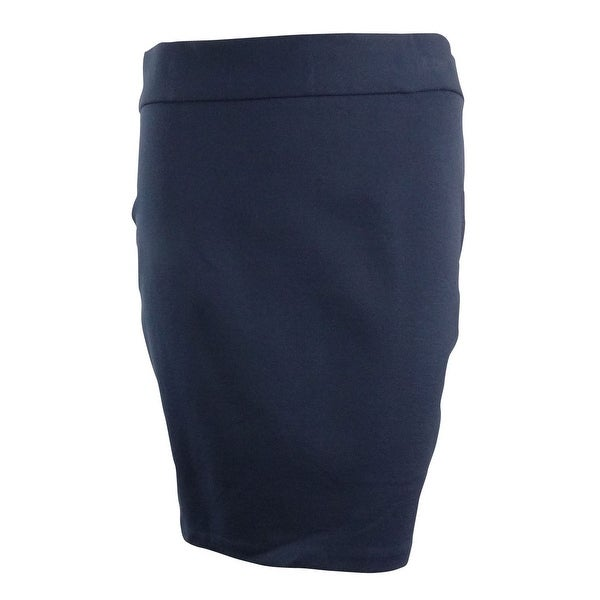 INC Women's Geo Bodycon Skirt - Deep Twilight - 14