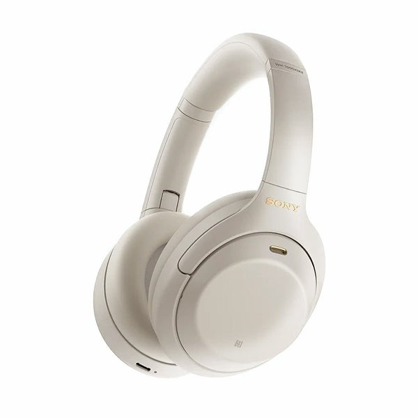 Sony WH-1000XM4 Wireless Noise-Cancelling Over-Ear Headphones. Opens flyout.