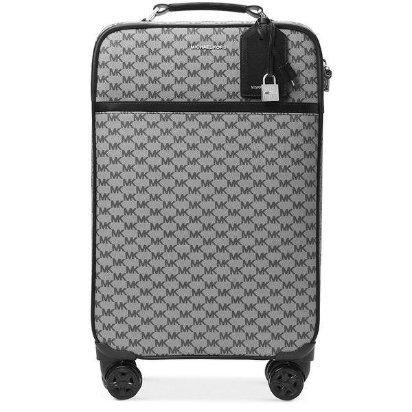 0332730482a9 Shop Michael Kors 4-Wheel Large Signature Travel Suitcase - Free ...