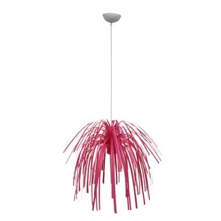 Link to Present Time Fireworks Bright Pink Pendant Lamp - 51.5 X 21 X 21 inches Similar Items in Table Lamps
