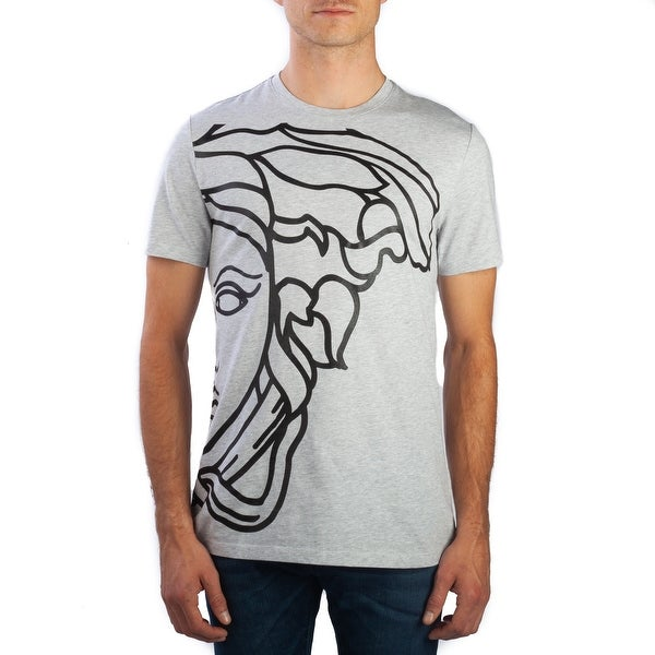 d0f572c0 Shop Versace Collection Men's Cotton Medusa Graphic T-Shirt Grey - Free  Shipping Today - Overstock - 25692692