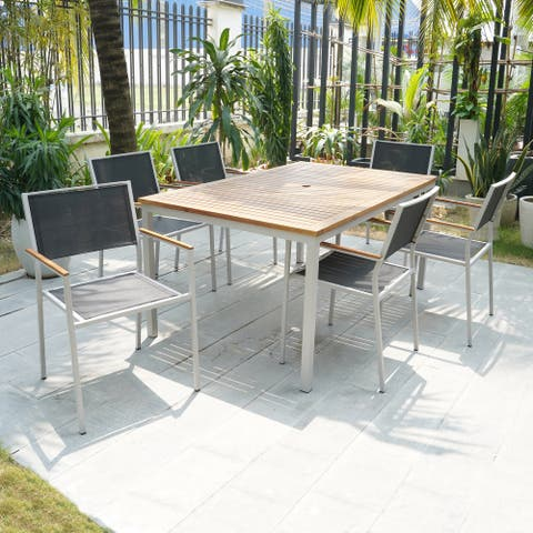 Portside 7 Pc Outdoor Dining Set
