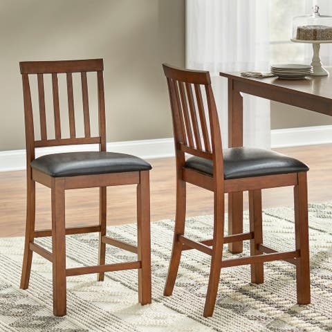 Simple Living Claudette Counter Height Stool (Set of 2)