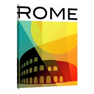 """PTM Images 9-105733  PTM Canvas Collection 10"""" x 8"""" - """"Rome 1"""" Giclee Art Print on Canvas"""