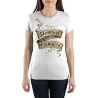 Harry Potter Mischief Managed Juniors T-Shirt