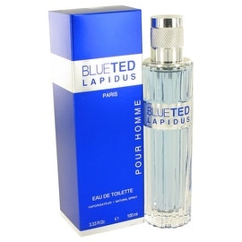 BlueTed by Ted Lapidus Eau De Toilette Spray 3.4 oz - Men