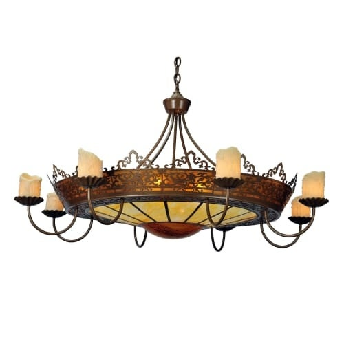 Meyda tiffany 99367 stanley 20 light 35 wide pillar candle meyda tiffany 99367 stanley 20 light 35 wide pillar candle chandelier with brown mica shade aloadofball Image collections