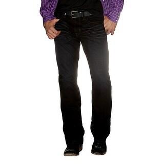 Cinch Western Denim Jeans Mens Sevens Everyday Whiskers Dk HB50334001
