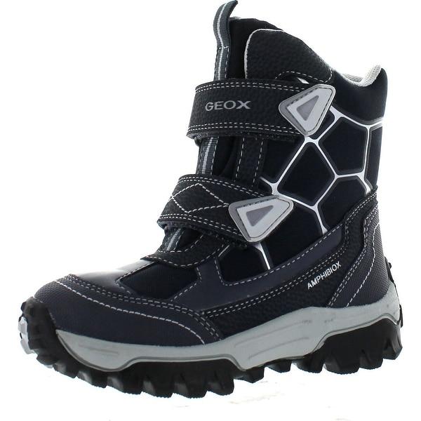 Geox Boys Himalaya Waterproof Fashion Winter Snow Boots