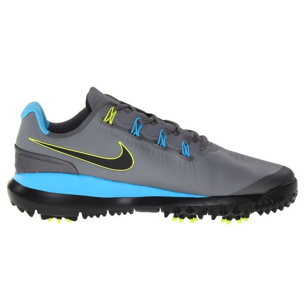 a348c45a8a4 Shop Nike Men s TW 14 Cool Grey Vivid Blue Met. Dark Grey Golf Shoes ...