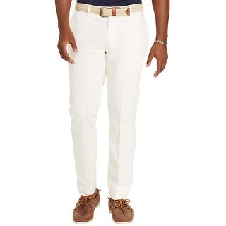 Polo Ralph Lauren Classic Fit Off White Stretch Chinos Pants 32 x 32