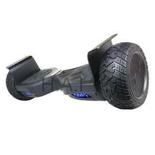 "Hoverboard 8.5"" Two-Wheel Self Balancing All-Terrain Alloy Wheel Electric Scooter UL 2272 Certified with Bluetooth Speaker"