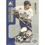 Scott Jackson Seattle Thunderbirds  WHL 2005 In The Game Heroes and Prospects Autographed Card  This item comes with