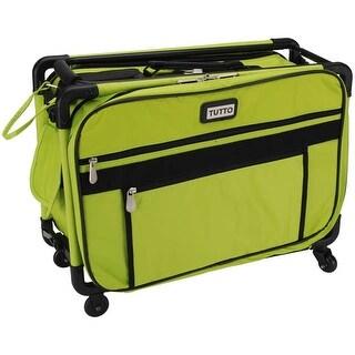 "TUTTO Machine On Wheels Case-20""X13""X9"" Lime - Green"