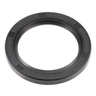 Oil Seal, TC 80mm x 110mm x 12mm, Nitrile Rubber Cover Double Lip - 80mmx110mmx12mm