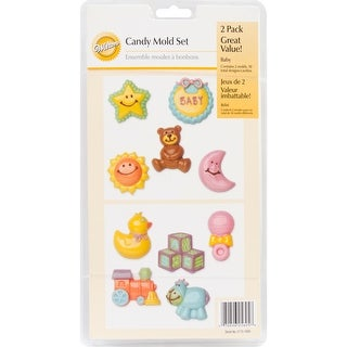 Candy Mold-Baby 10 Cavity (10 Designs)