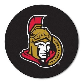 NHL - Sports Team Logo Ottawa Puck Mat