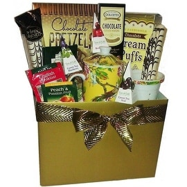 Classic Tea & Gourmet Sweets Gift Box