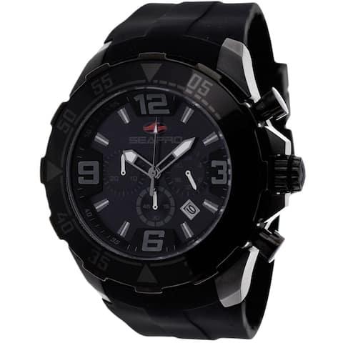 Seapro Men's Diver Black Dial Watch - SP1122