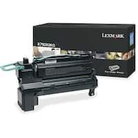 """Lexmark X792X2KG Lexmark X792X2KG Toner Cartridge - Black - Laser - Extra High Yield - 20000 Page - 1 Each - OEM"""