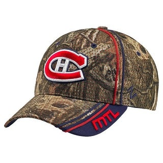 Legendary Whitetails Montreal Canadiens Mossy Oak Camo NHL Slash Cap - montreal canadiens