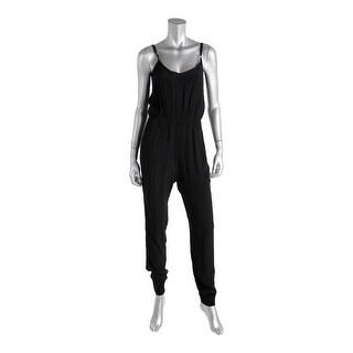 Minkpink Womens Double-V Sleeveless Jumpsuit