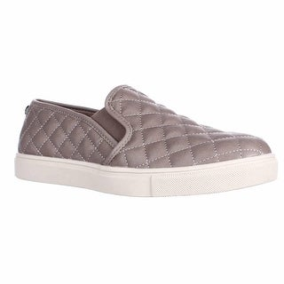 Steve Madden Ecentrcq Quilted Fashion Sneakers - Grey