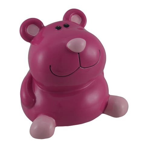 Money Buddy Funny Face Bear Coin Bank