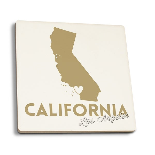 California State Outline With Heart