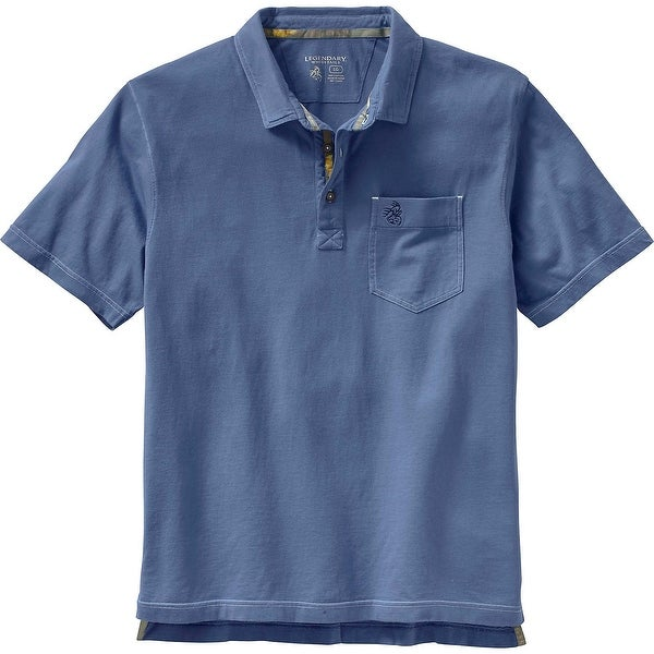Legendary Whitetails Mens Newport Pocket Polo Shirt