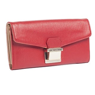 Moschino JC5551 0505 Red Zip Around Wallet