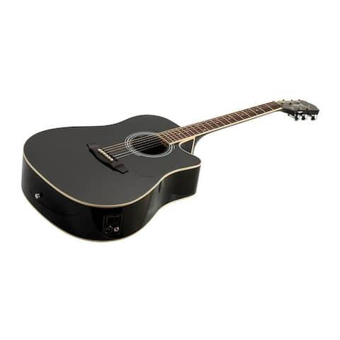 buy acoustic electric guitars online at overstock our best guitars amplifiers deals. Black Bedroom Furniture Sets. Home Design Ideas