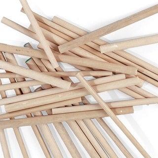 "Creativity Street - Wood Dowels - 12"" x .25"" - 12/Pkg."