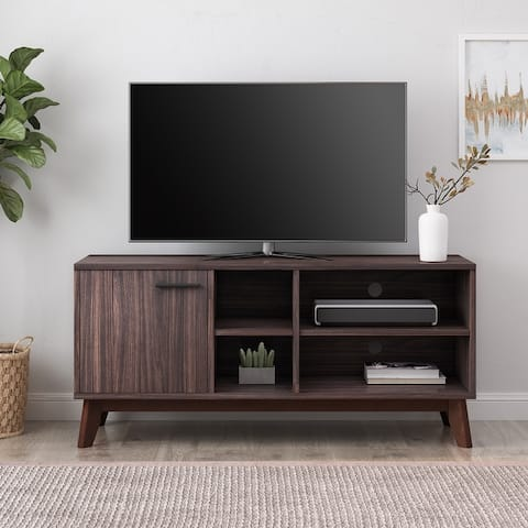 Rattler Mid-century Storage TV Stand by Christopher Knight Home