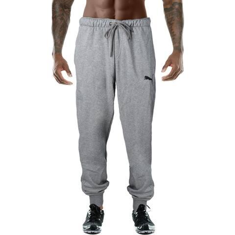 Puma Mens P48 Jogger Pants Moisture Wick Athleisure