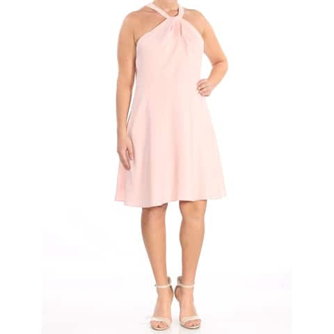 CECE Pink Sleeveless Above The Knee Dress 12