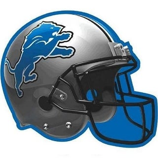 Amscan 192334 Detroit Lions Paper Cut-Out, 12 in. - Pack of 6