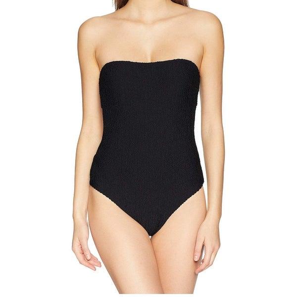 5d12c3fd2a Shop Onia Black Women's Size XS Estelle Ribbed One-Piece Swimsuit ...