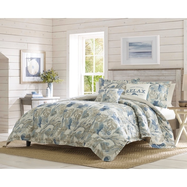 Tommy Bahama Raw Coast Cotton Bonus Comforter Set. Opens flyout.