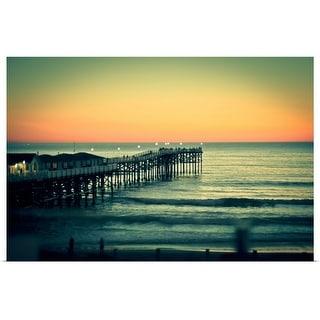 """San Diego sunset"" Poster Print"