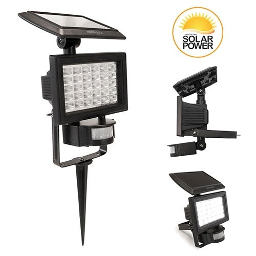 NITEWATCH Solar 3-1 Motion Detector Flood Light