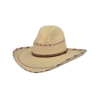 Alamo Cowboy Hat Gus Nevada Rattlesnake Palm Natural 28172